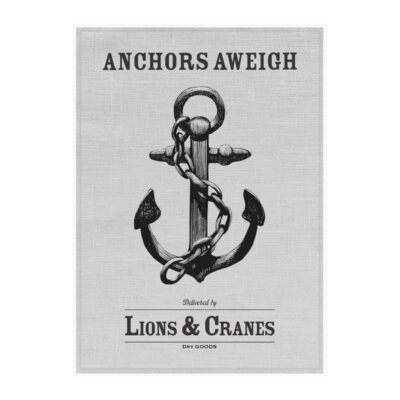 Kitchen Towel Anchor Grey 5-pack