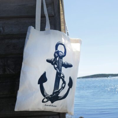 Totebag Anchor Neutral 10-pack