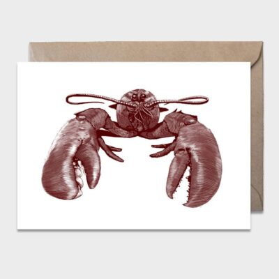 Postcard Lobster 10-pack