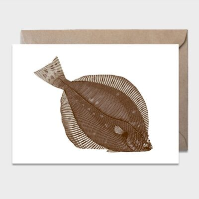 Postcard Plaice 10-pack