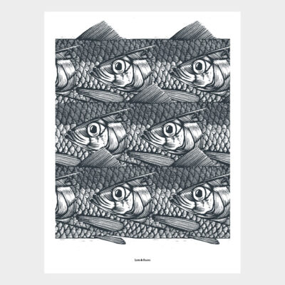 Poster Herring Run 4-pack