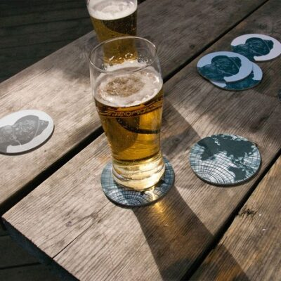 Coasters World Awaits Blue (4 pcs) 5-pack