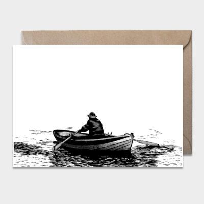 Postcard Rower 10-pack