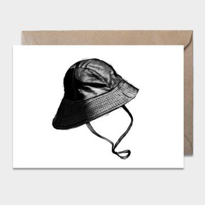 Postcard Oilskin Hat 10-pack