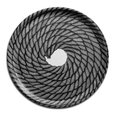 Circular Tray Rope Coil 2-pack
