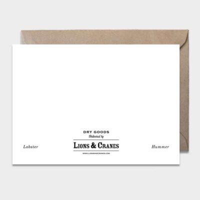Postcard Lobster 10-pack