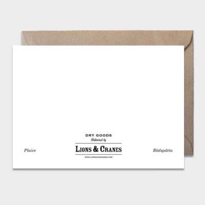 Postcard Plaice 10-pack