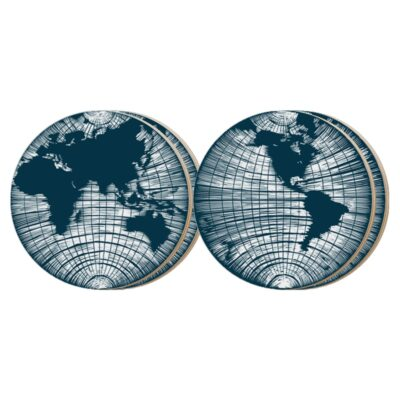 Coasters World Awaits Blue (4 pcs) 5-pack